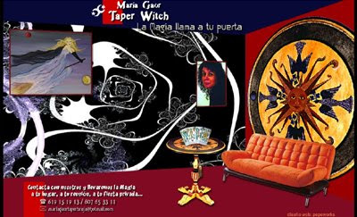 ver web Taper Witch María Gaor