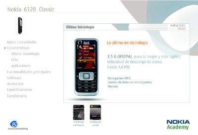 e-learning Nokia 6120 Classic