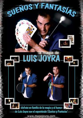 cartel del mago Luis Joyra (diseñado por pepeworks)