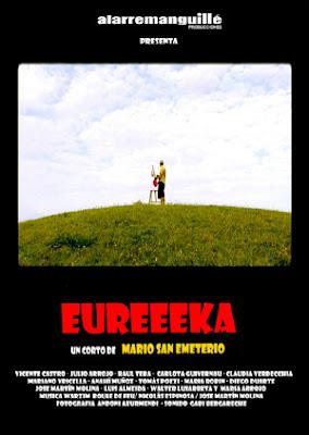 cartel del cortometraje Eureeeka de Mario San Emeterio