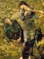 El hechizo de Merlín (1874) - Edward Burne-Jones (41)