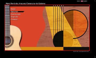 ver web Guitarras Aracama