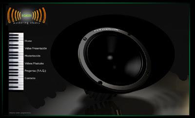 ver web Ecasti.com (Mastering Studio) - República Dominicana