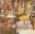 Childe Hassam (35) - La habitación de las flores (1894)