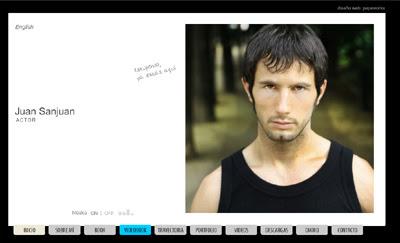 visitar la página web del actor gaditano Juan Sanjuan