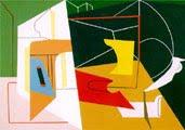 Stuart Davis (34 años) - obra: Batidora de huevos nº 4 (1928)