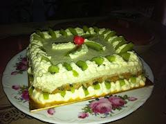 Kiwi Cheese Cake
