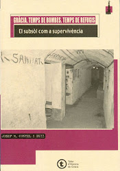 Gràcia, Temps de bombes, Temps de refugis. El subsòl com a supervivència, de Josep M Contel