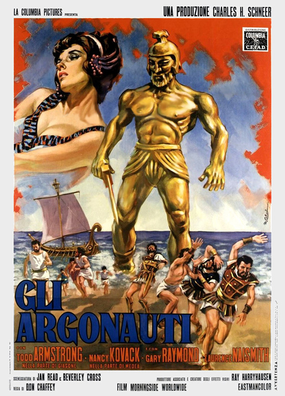 Conjure Cinema Jason And The Argonauts 1963 Shown June 1993