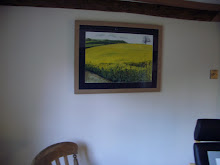 Rape Field, framed