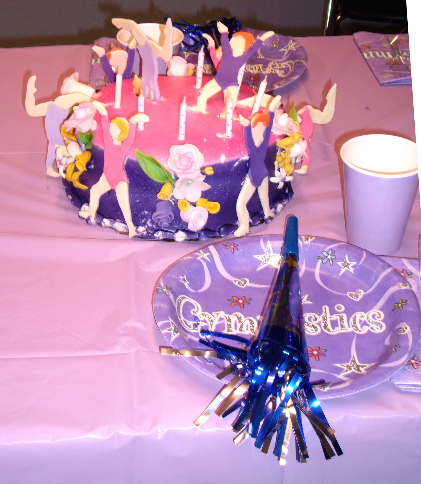 Gymnastics Birthday Party Decorations Party Dreamers Party Planners 541 858 8923