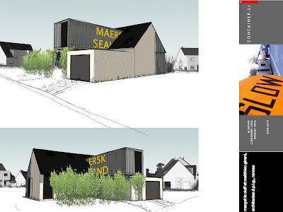 Maison container projet plan construction francais maison for Maison 6 container