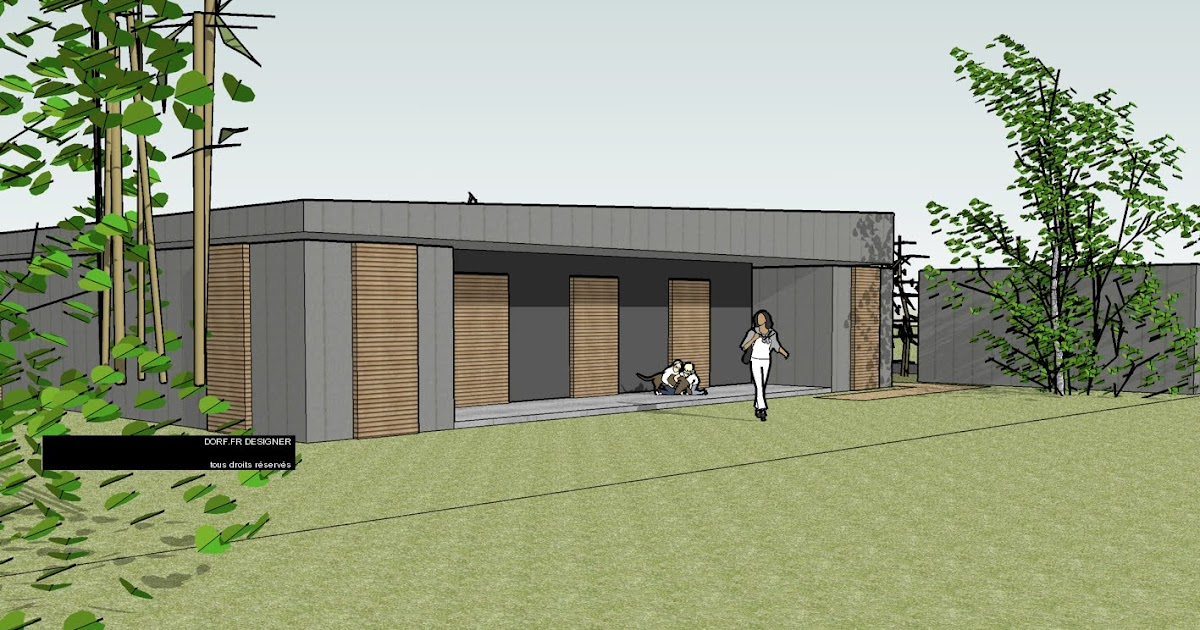 Dorf fr designer d50 maison plan c for Maisons containers