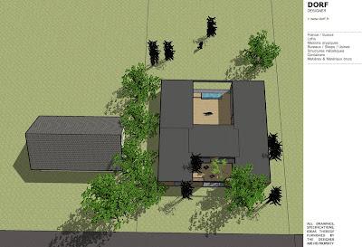 Dorf fr designer d58 patio picardie for Budget construction maison 100m2