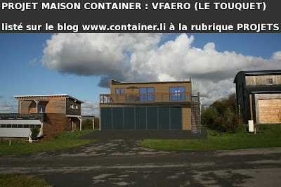 Maison container projet plan construction francais vfaero for Projet maison container