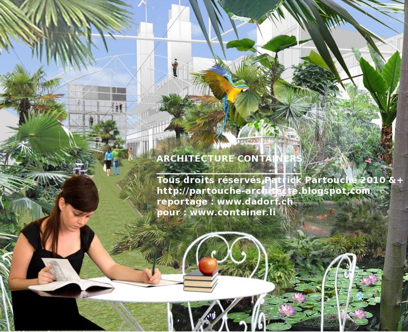 maison container projet plan construction francais residence conteneurs etudiants. Black Bedroom Furniture Sets. Home Design Ideas