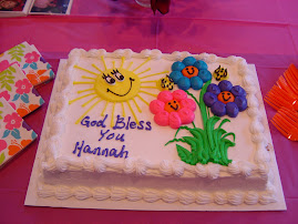 Cake at our shower