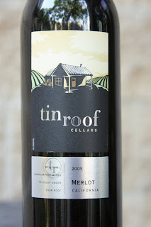 Tin Roof Cellars 2005 Merlot