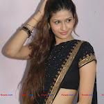 Archana & Palak In Black Saree
