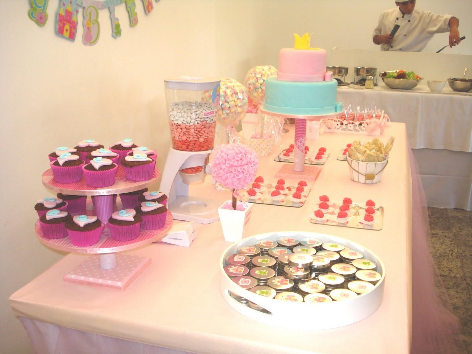 decoracao festa simples:Mesa De Bolo Para Festa Infantil