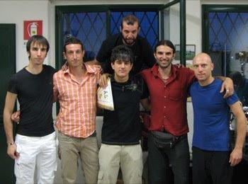 Foto di gruppo per i nuovi arrivati.