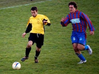 Frank Di Siena decisivo nell'azione finale.