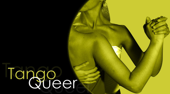 Tango Queer logo with female couple