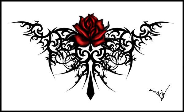tattoo font. tattoo font and gothic