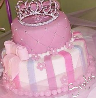 Pictures Of Birthday Cakes For Baby Girl : Cakes by Styles: Baby Girl First Birthday!