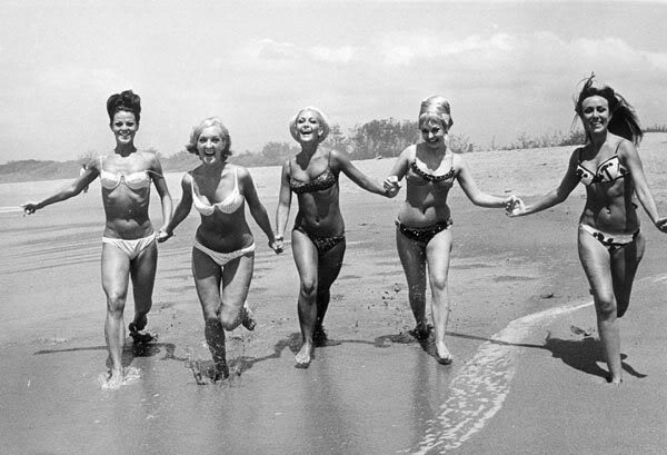 I love this photo especially because these women look so happy and carefree,