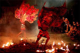 Kecak Bali Dance Form BOna Gianyar