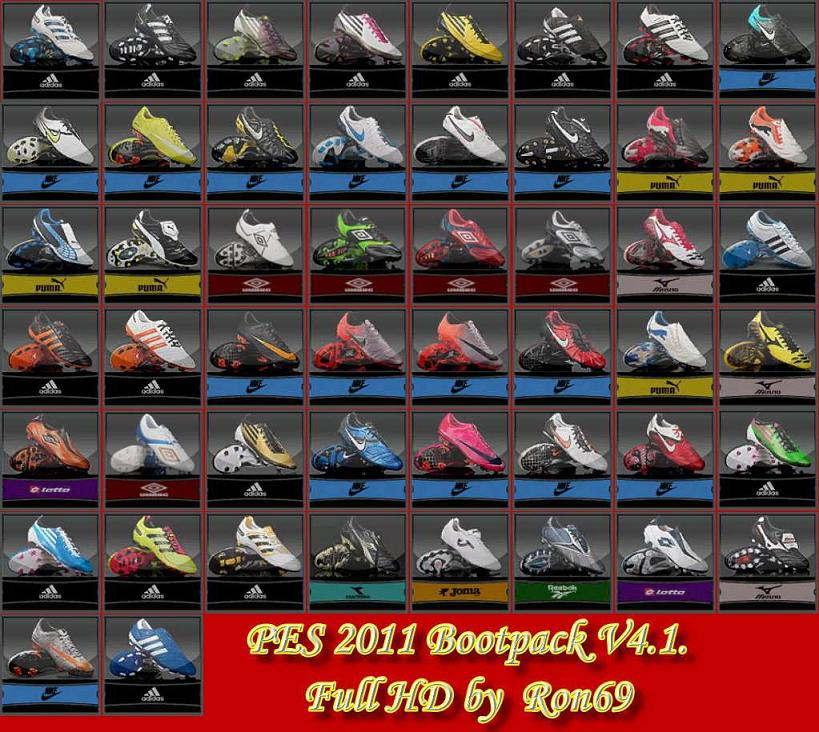 PES 2011 HD Bootpack V4.1 by Ron69