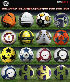 PES 2011 BALLPACK by Katalonczyk18
