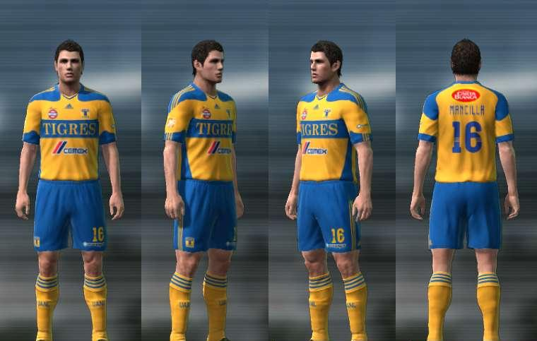 KITS TIGRES UANL 2011 By Edxz101