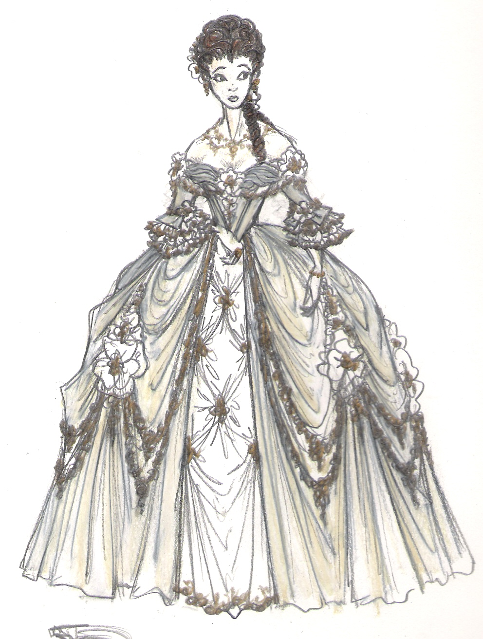 Victorian, Edwardian, and Civil War Ball Gowns - Recollections