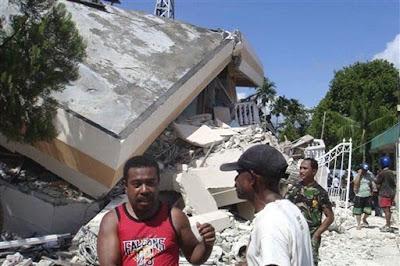 Cempaka Belanda: Earthquakes