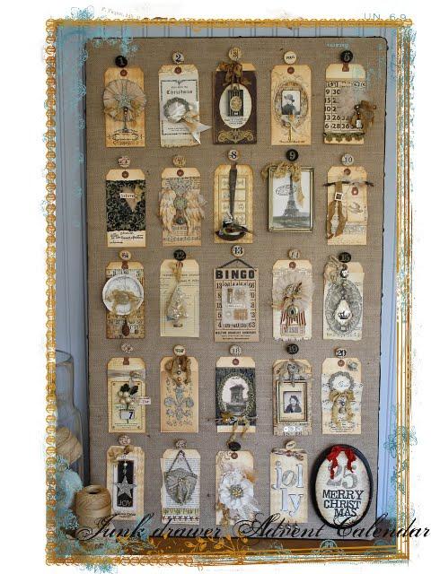Advent Calendar Vintage : Chicks and gluesticks another cute vintage advent