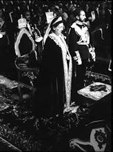 Haile Selassie e Rainha Menen