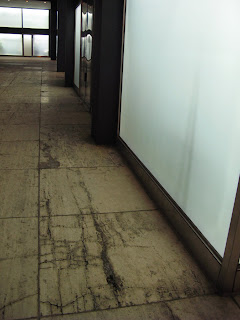 Mies Chicago 860 880 Lake Shore Drive Apartments travertine bad condition restoration renovation preservation