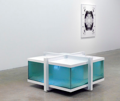 Iñigo Manglano-Ovallé Happiness is a state of inertia Mies van der Rohe fish tank Max Protetch