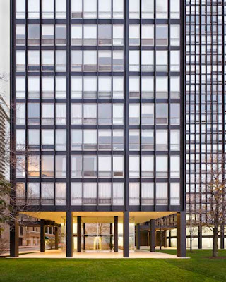 Mies Lake Shore Drive Apartments Chicago restored 2009