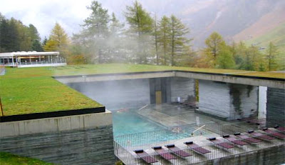 Peter Zumthor Thermal Baths Vals Switzerland Thermae