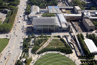 Modern Wing Renzo Piano Chicago Art Institute Millennium Park