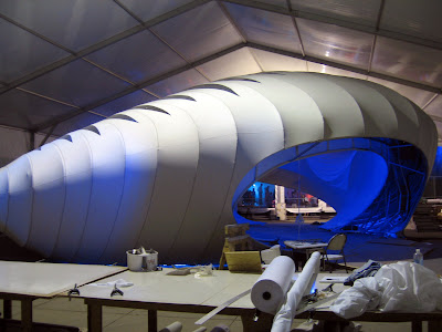 Zaha Hadid pavilion Chicago Millennium Park Burnham centennial