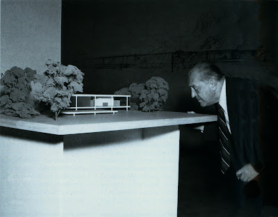 Mies van der Rohe model Farnsworth House MOMA