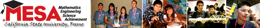 CSU Fresno MESA Program Student Blog