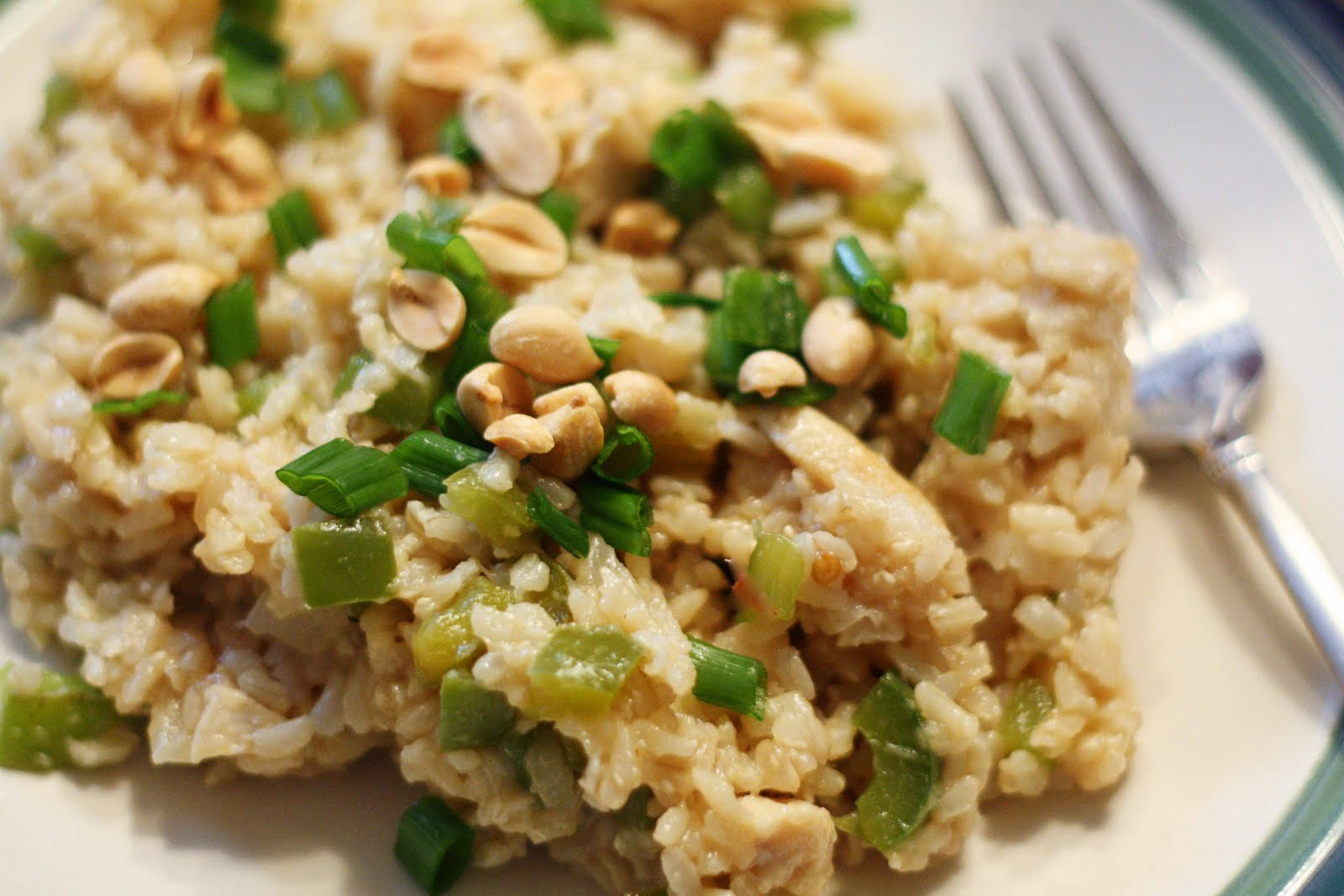 ... Rice+Recipes Love At First Bite: Spicy Chicken Fried Rice with Peanuts