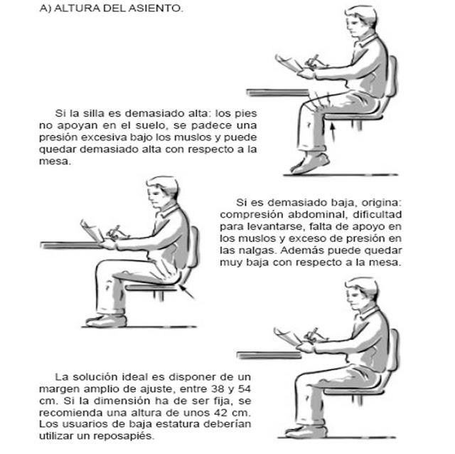 Arelis de le n 24 de julio for Altura silla