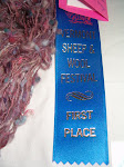 I won First Prize at the VT Sheep Festival 2008!