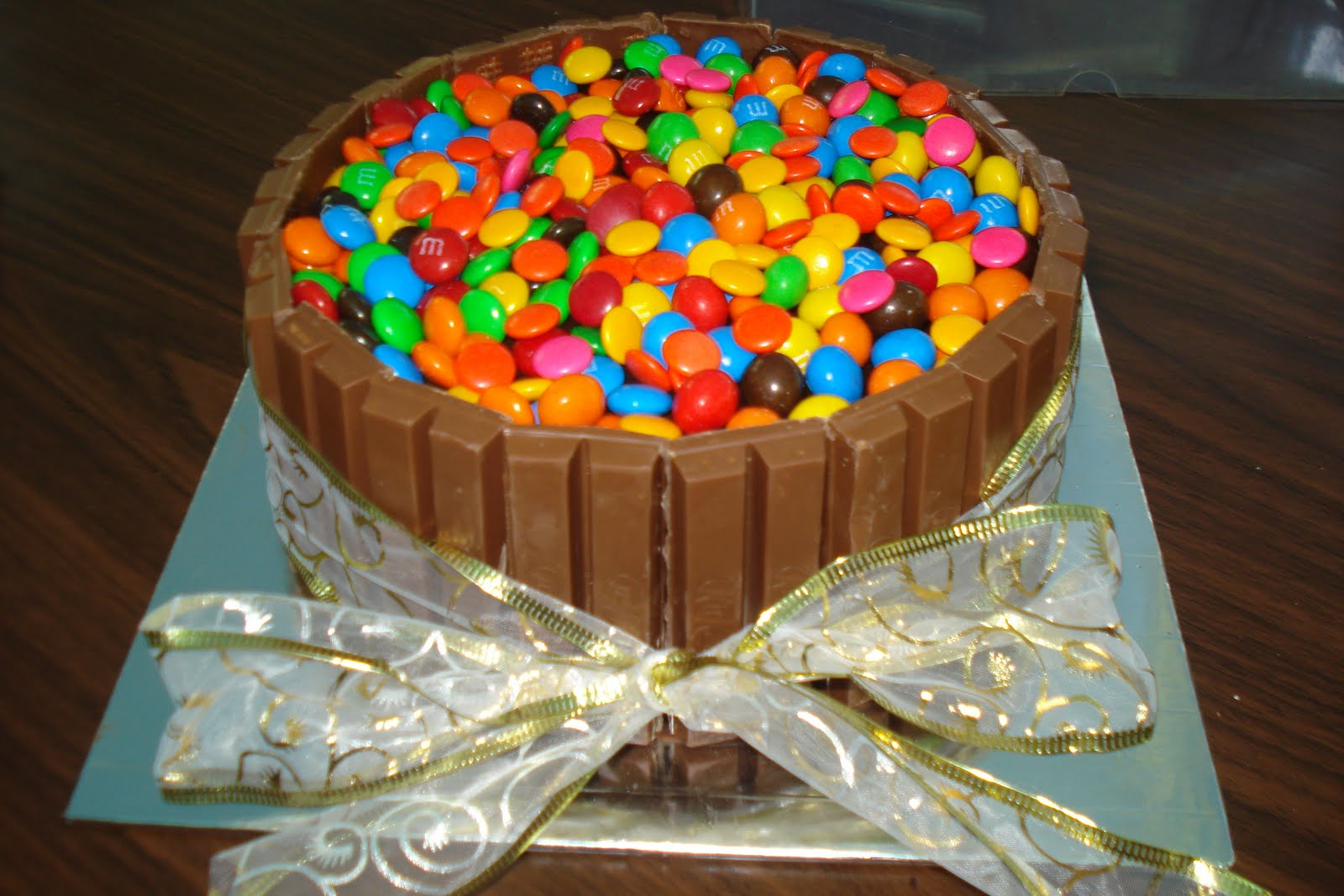 Jasmines Kitchen Of All Things Nice Candy themed choc cake